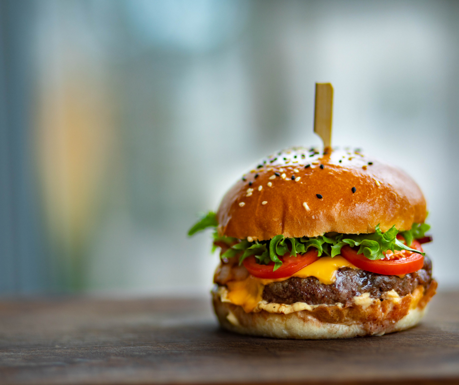 Mac Donalds hamburger