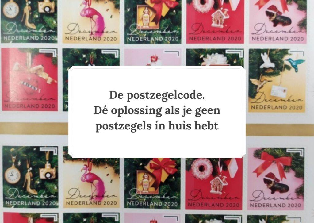 De postzegelcode