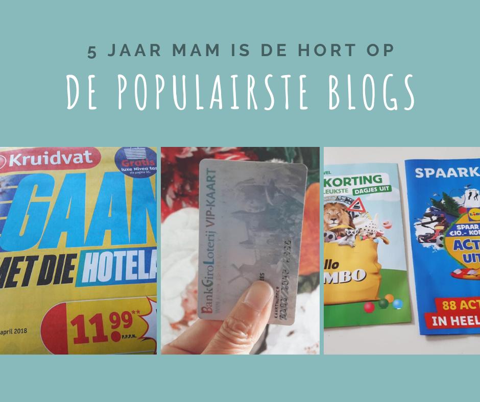 5 jaar mam is de hort op De populairste blogs