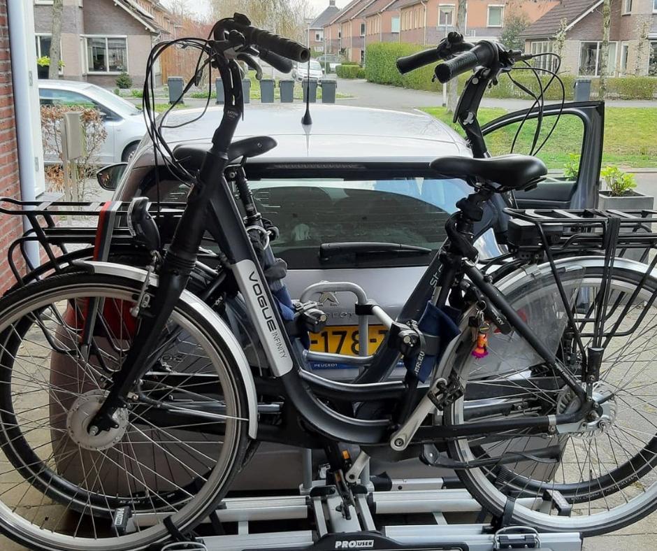 10 manieren om je e-bike veilig op de fietsendrager te vervoeren