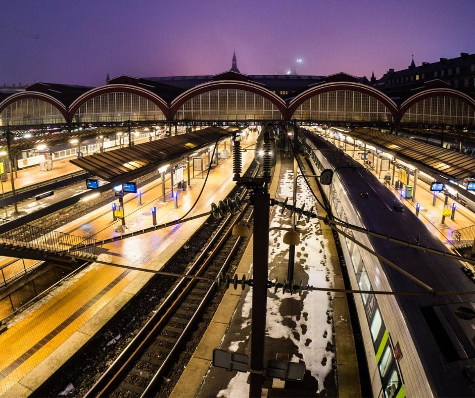 Voordelen van reizen met de internationale trein