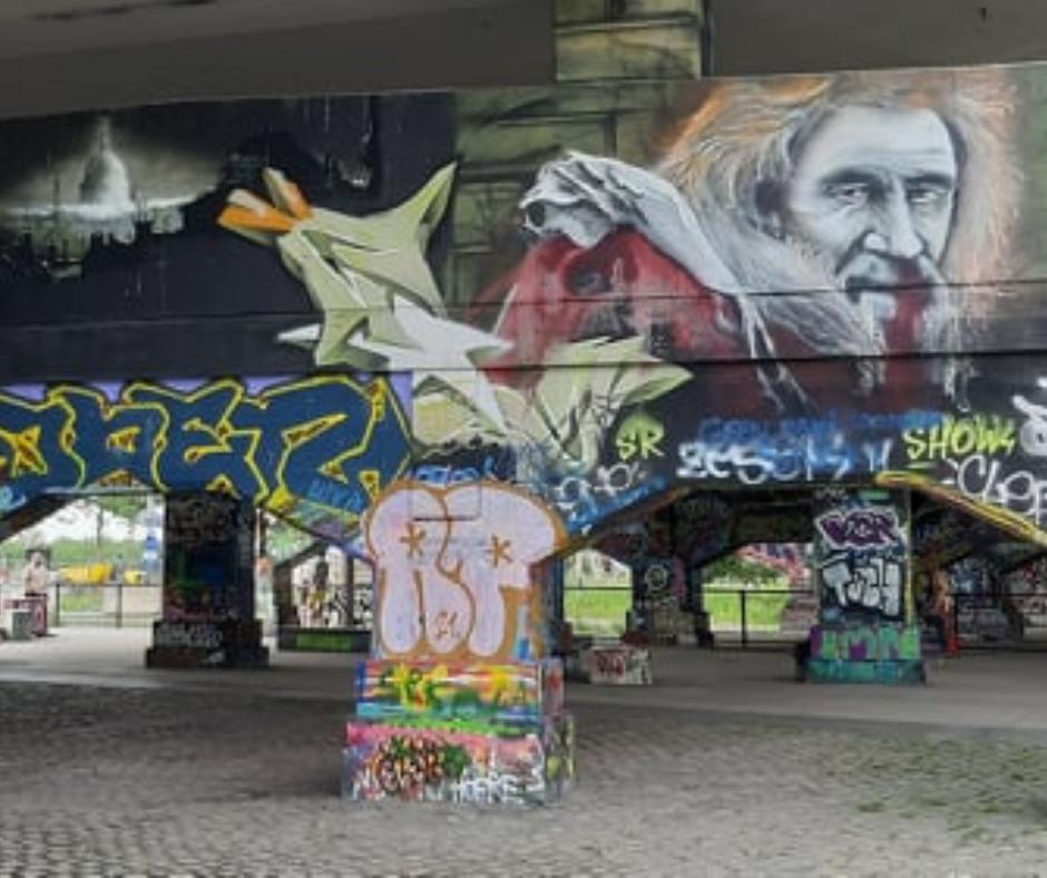 Street art in Antwerpen 0